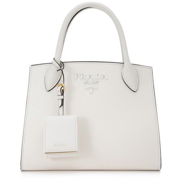 8f030e370085 Prada Saffiano Cuir City Calf Monochrome Bag 26Cm ( 2