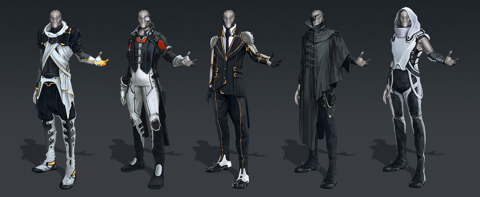 Character Design Sci Fi Clothes