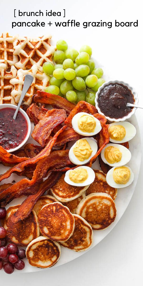 Pancake + Waffle Brunch Board