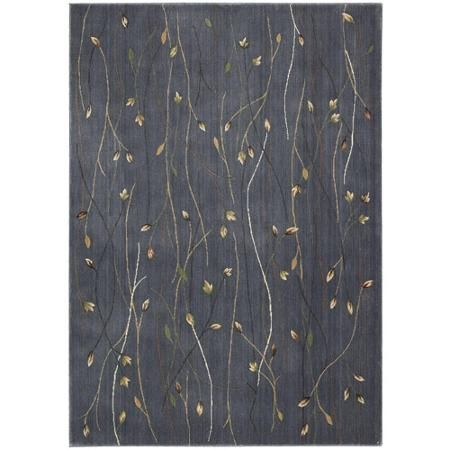 Nourison Cambridge Collection CG04 Transitional Area Rug, Blue