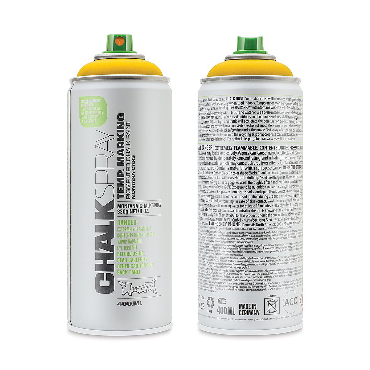 400ml different colours Chalky Finish Spray