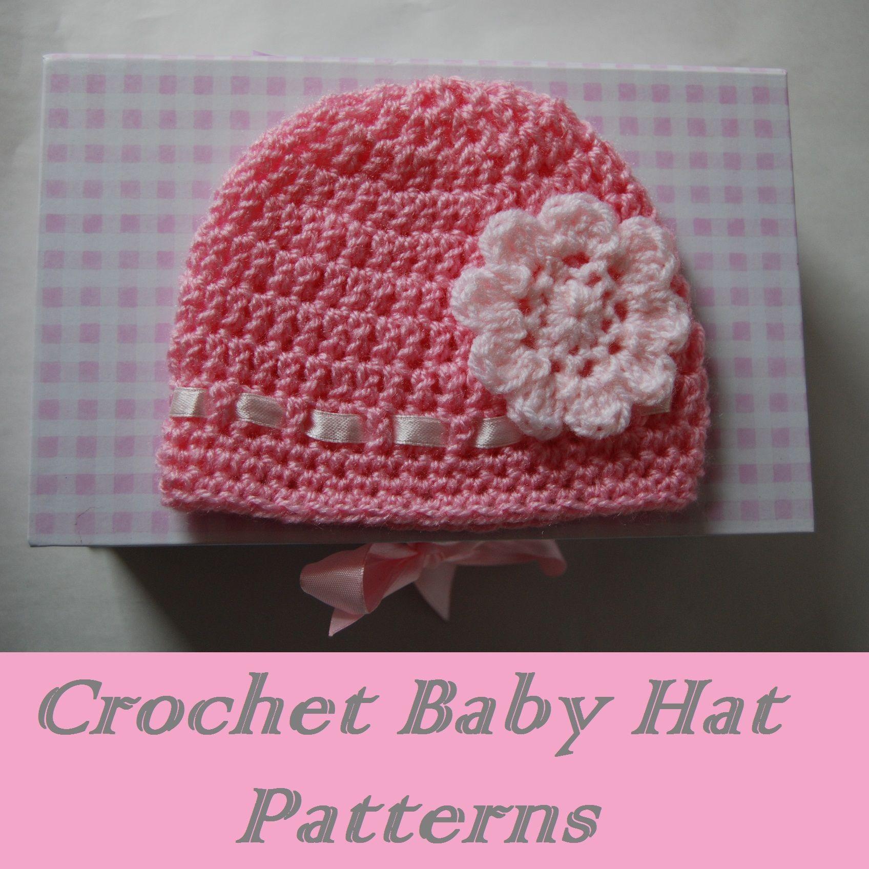 Free Easy Crochet Baby Hat Patterns | crochet | Pinterest | Gorros ...