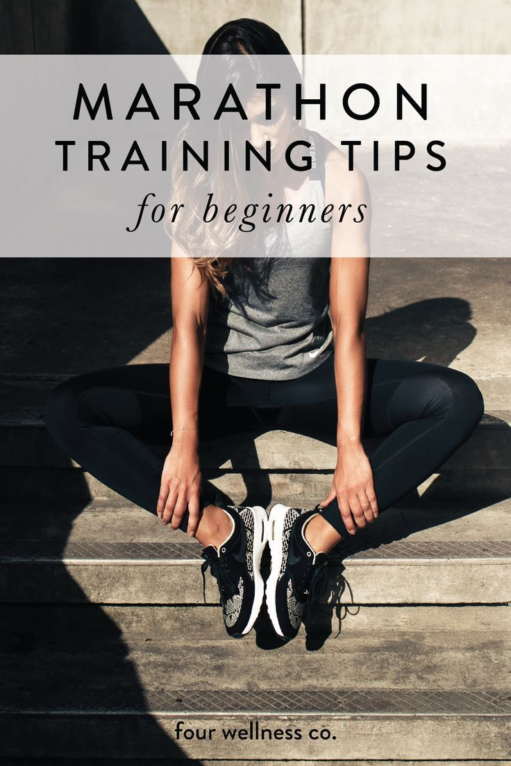 Marathon training tips for beginners // How to prepare for running your first marathon or half marat...