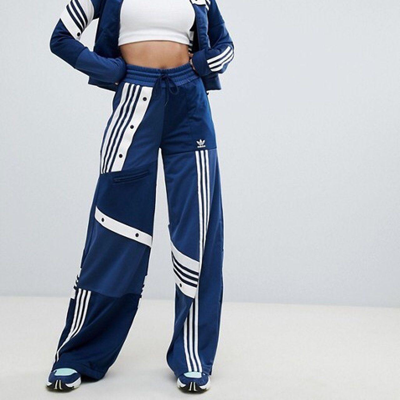 Topshop X Adidas originals collaboration track Depop