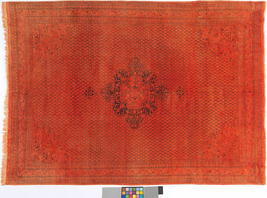 Orange (-er) Teppich By Kiskan Process Hamburg, Orientteppich ... Wohnzimmer Modern Vintage