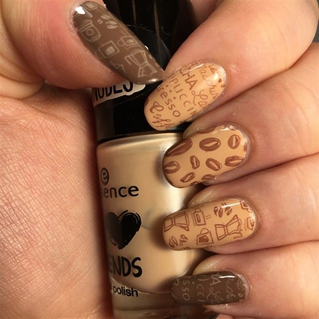 Nail Art For National Coffee Day