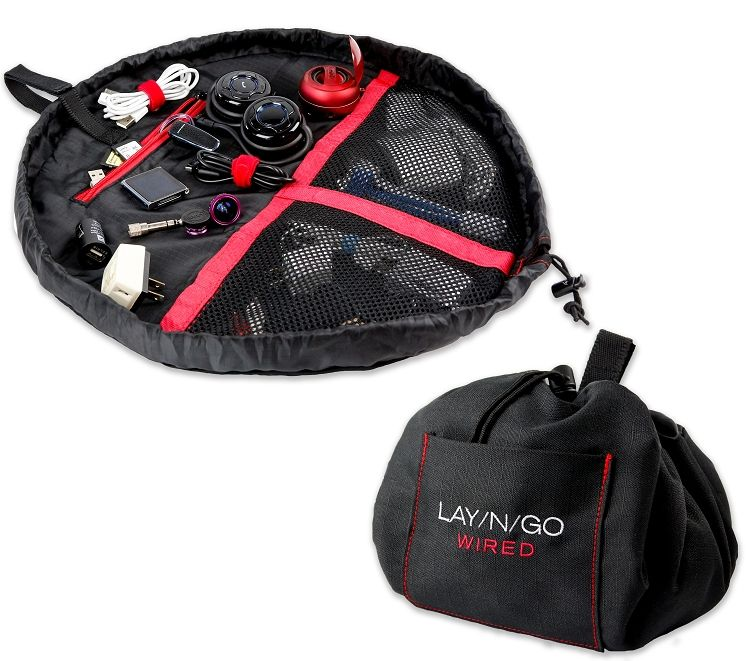 Lay-n-Go WIRED Black and Red (19