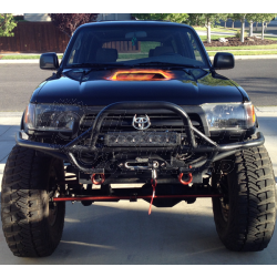 Addicted Offroad 1996 2002 Toyota 4runner Front Winch Bumper Toyota 4runner Toyota 4runner