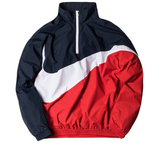 ec61f1f94d Kith x Nike Big Swoosh Quarter Zip Jacket Turn up dat athletic swagger! # kith #kithnyc #ronniefieg #nike #justdoit #nikeplus #bigswoosh #quarterzip  #jacket ...
