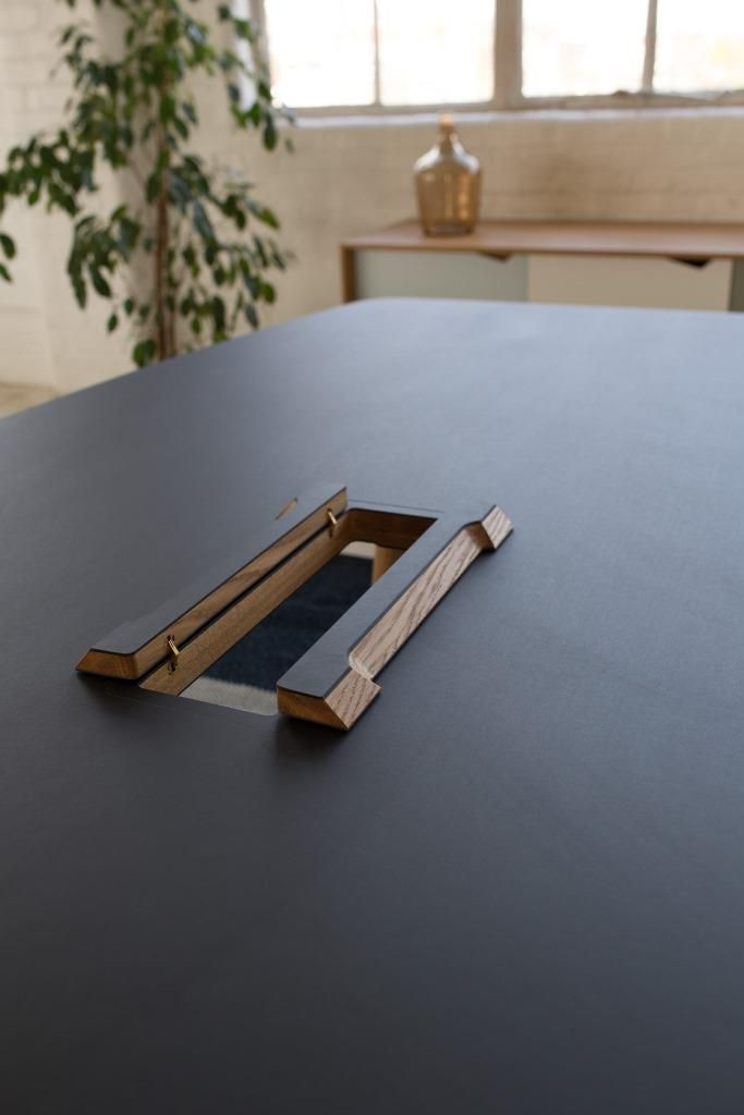 Forum Meeting Table By Hans Thyge U0026 Co. For Andersen Furniture / S1  Sideboard By