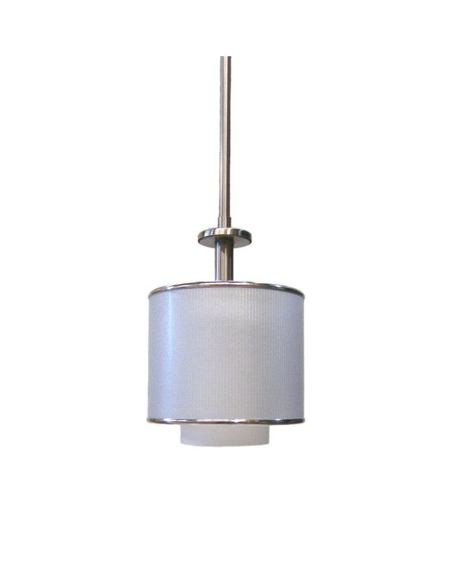 Quoizel Lighting HSW1507 BN One Light Mini Pendant In Brushed Nickel Finish  | Quality Discount Lighting