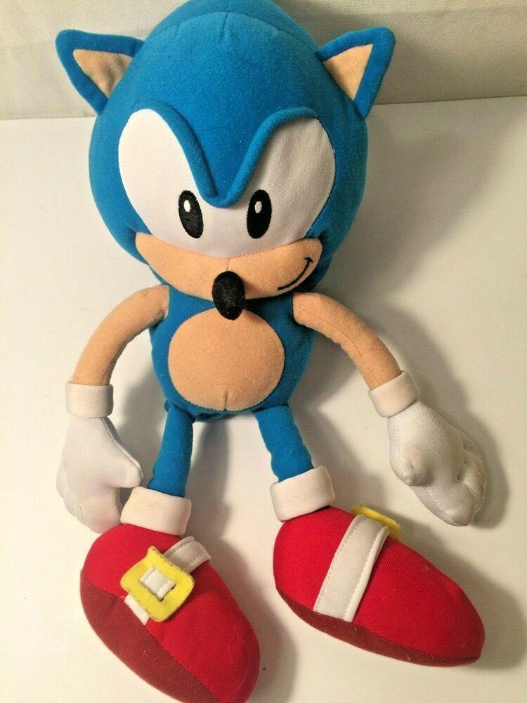 """Rare SEGA Official 12"""" Soft Toy Plush Collectible Light"""