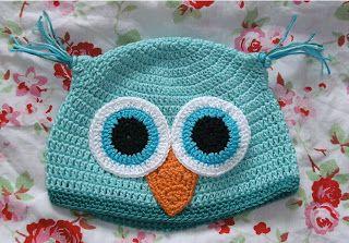 Mollys Honey Anleitung Für Eine Gehäkelte Eulenmütze Owls Pinterest