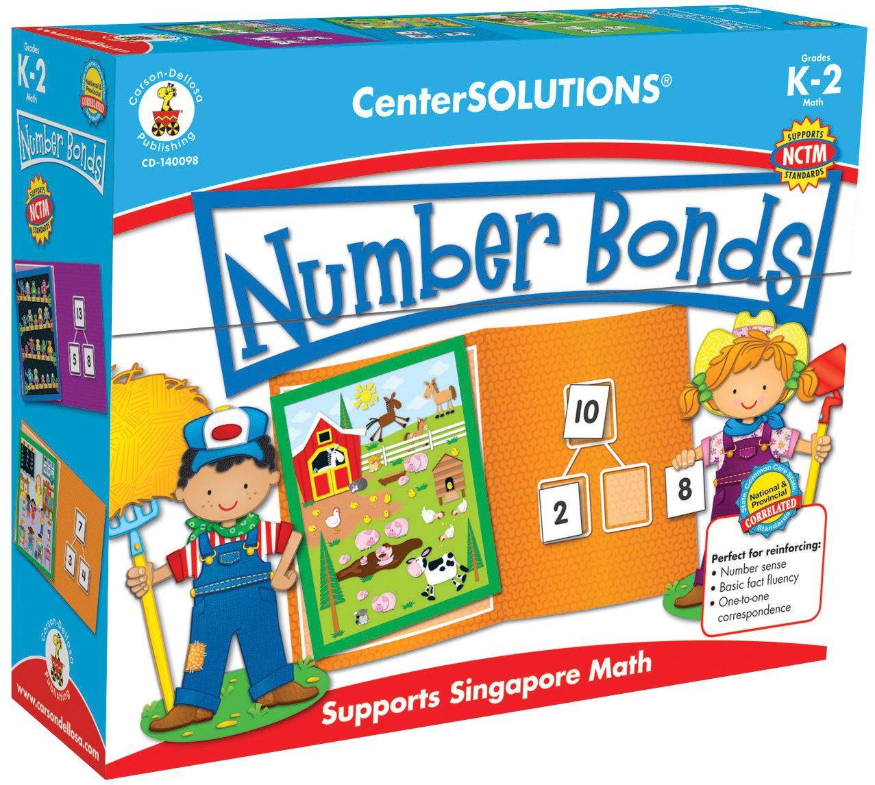 Carson Dellosa Center Solutions Number Bonds
