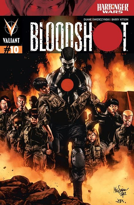 Bloodshot #10 regular cover by Mico Suayan $4