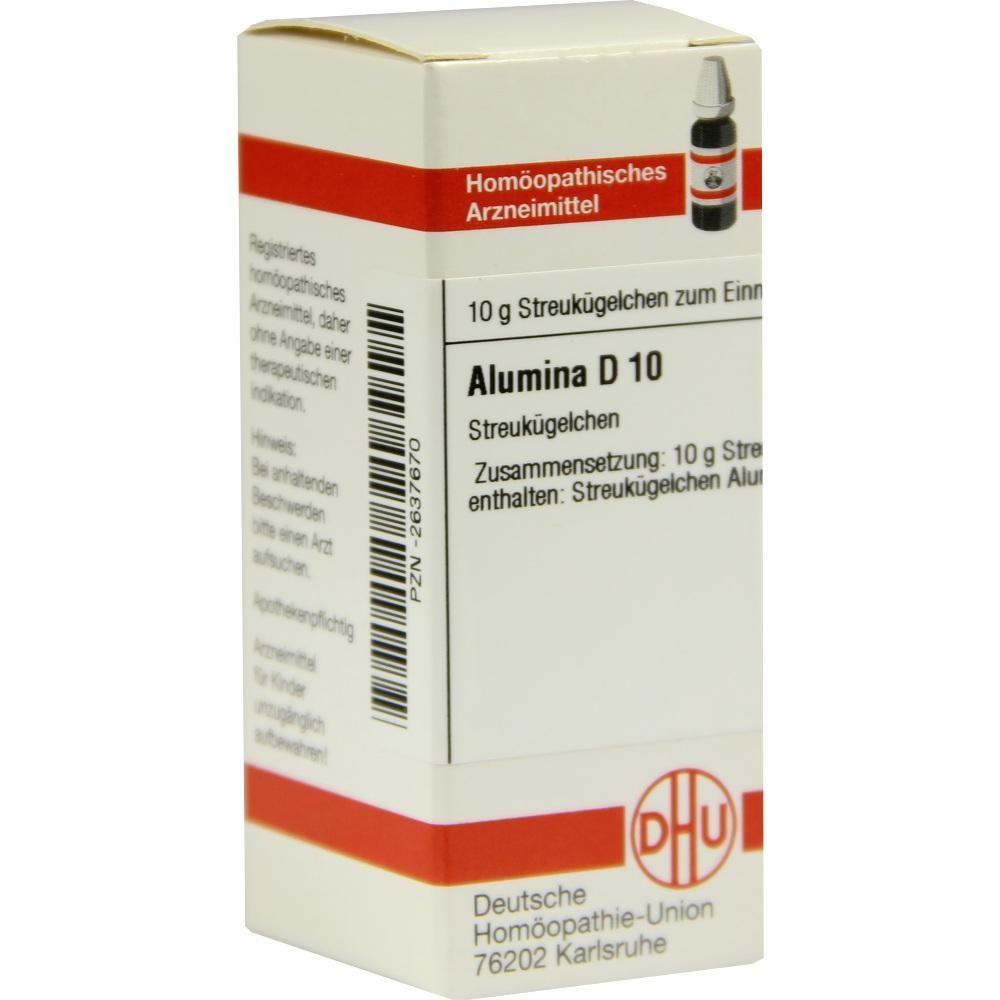 ALUMINA D 10 Globuli:   Packungsinhalt: 10 g Globuli PZN: 02637670 Hersteller: DHU-Arzneimittel GmbH & Co. KG Preis: 5,19 EUR inkl. 19 %…