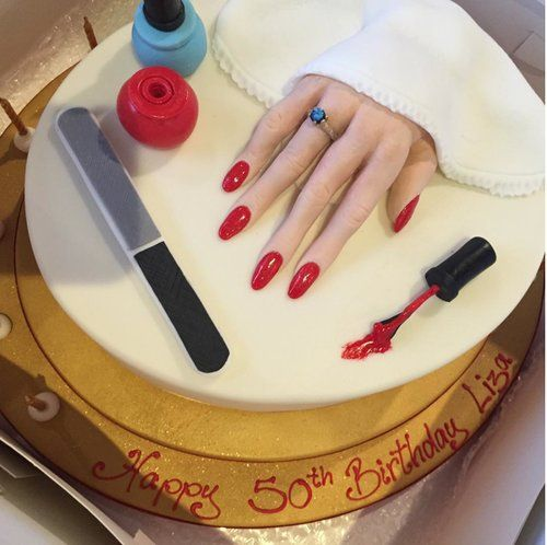 Birthday Cake Nails: Image Result For Cakes For Nail Technicians