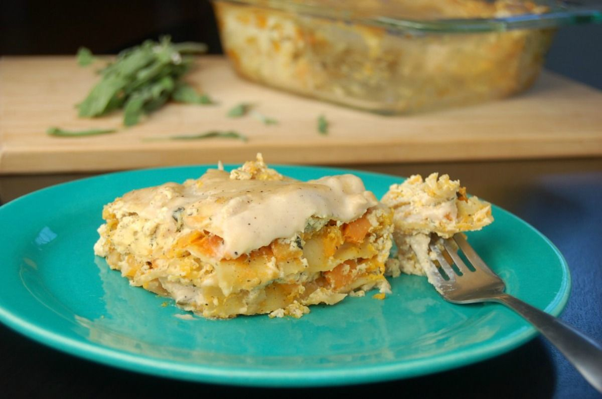 The Best Vegan Lasagna You Will Ever Make [Gluten-Free] | One Green Planet