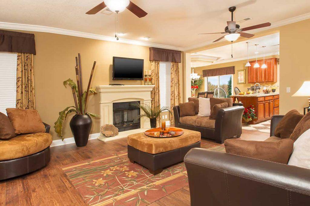 Lilly MultiSection Ocala Custom Homes Bedroom floor