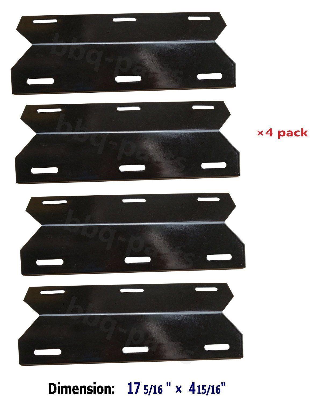 PPC041 (4pack) Porcelain Steel Heat Plate, Heat Shield
