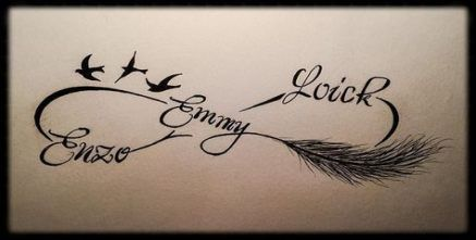 Trendy Tattoo Feather Infinity Ink Ideas tattoo is part of Feather tattoos -