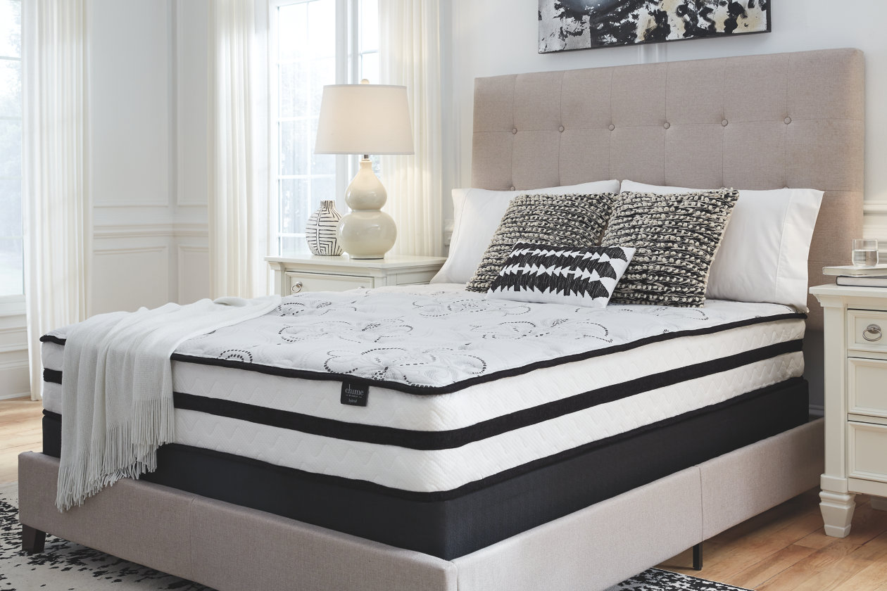 10 Inch Hybrid Full Mattress In A Box Ashley Furniture Homestore Full Mattress Mattress Twin Mattress