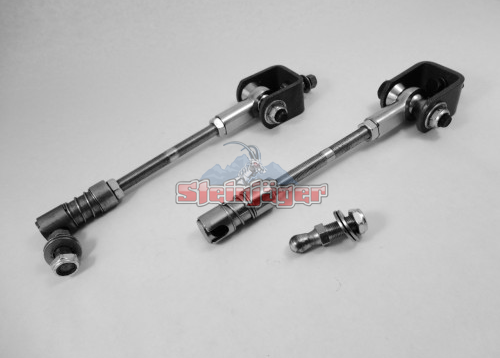 Steinjager Quick Disconnect Front Sway Bar Link Kit Stock Height Fits 1997 2006 Jeep Wrangler Tj Jeep Wrangler Wrangler Tj