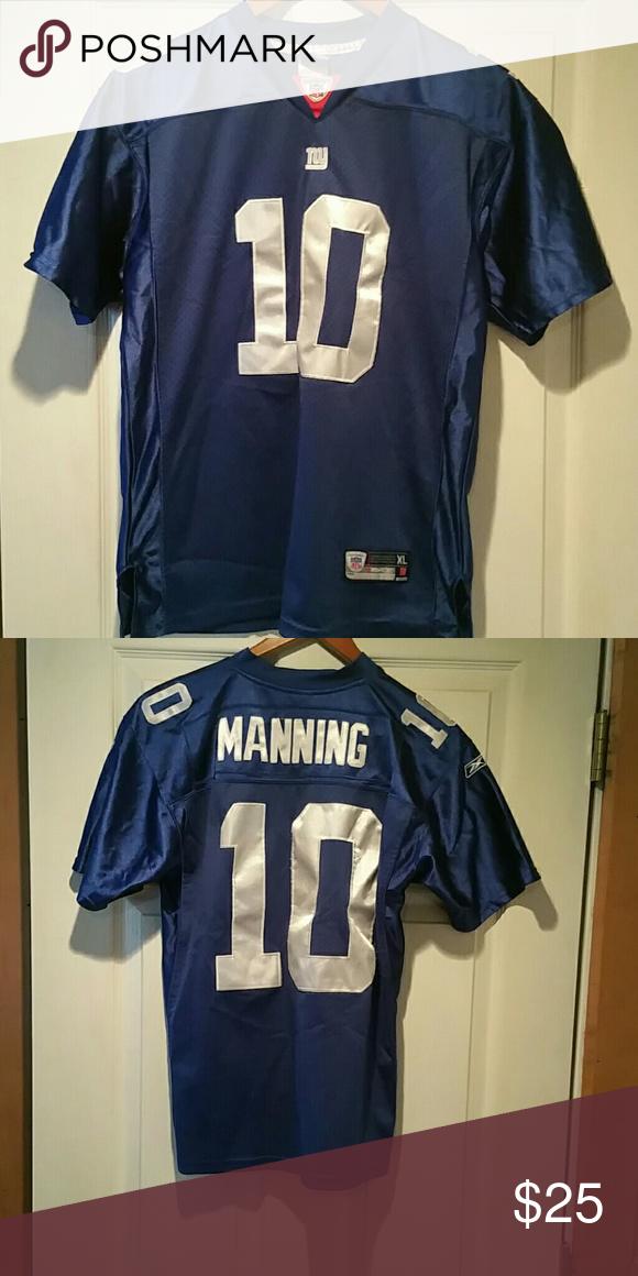 info for ddaca 1b8a2 Kids Eli Manning jersey. Authentic Giants jersey, Eli ...