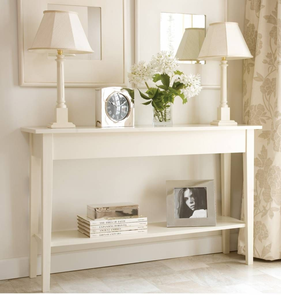 Modern Console Table For Foyer Decoration