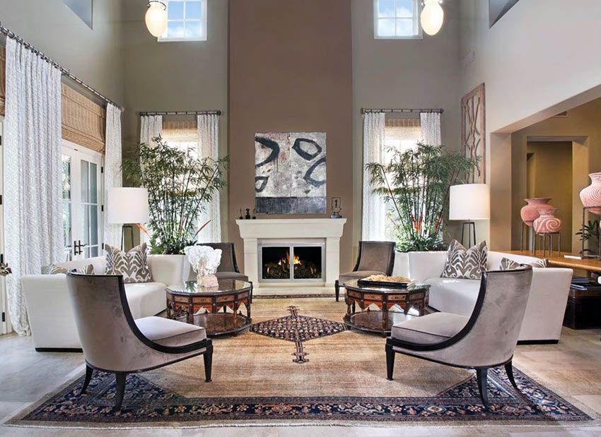 27 Beautiful Earth Tone Living Room Designs | Paint colors ...