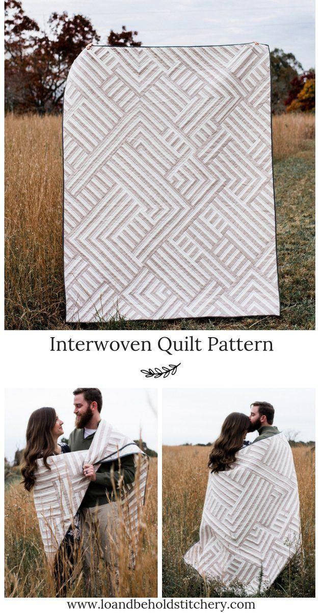 Interwoven Quilt Pattern