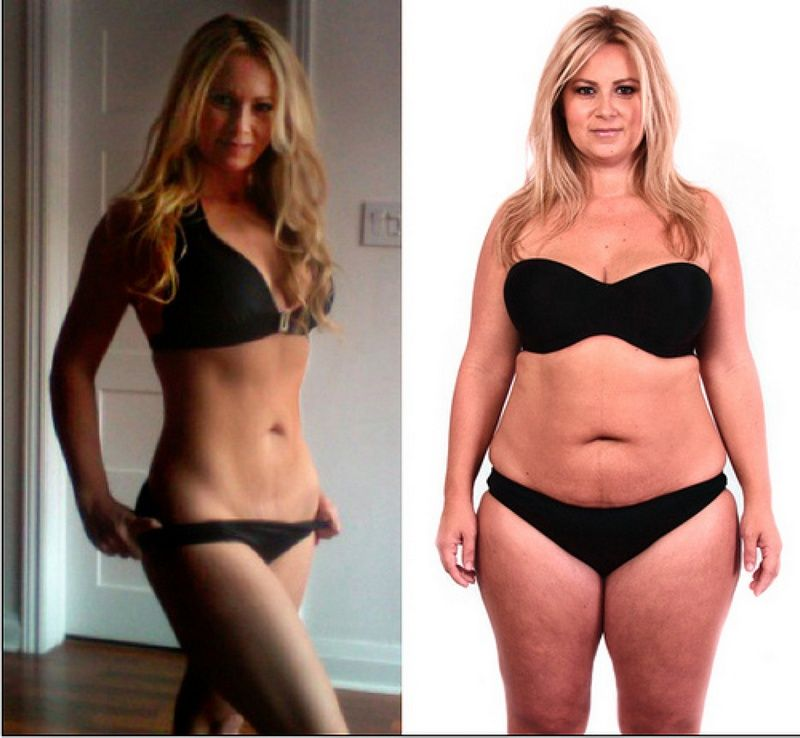 Fit Girl Before And After | www.imgkid.com - The Image Kid