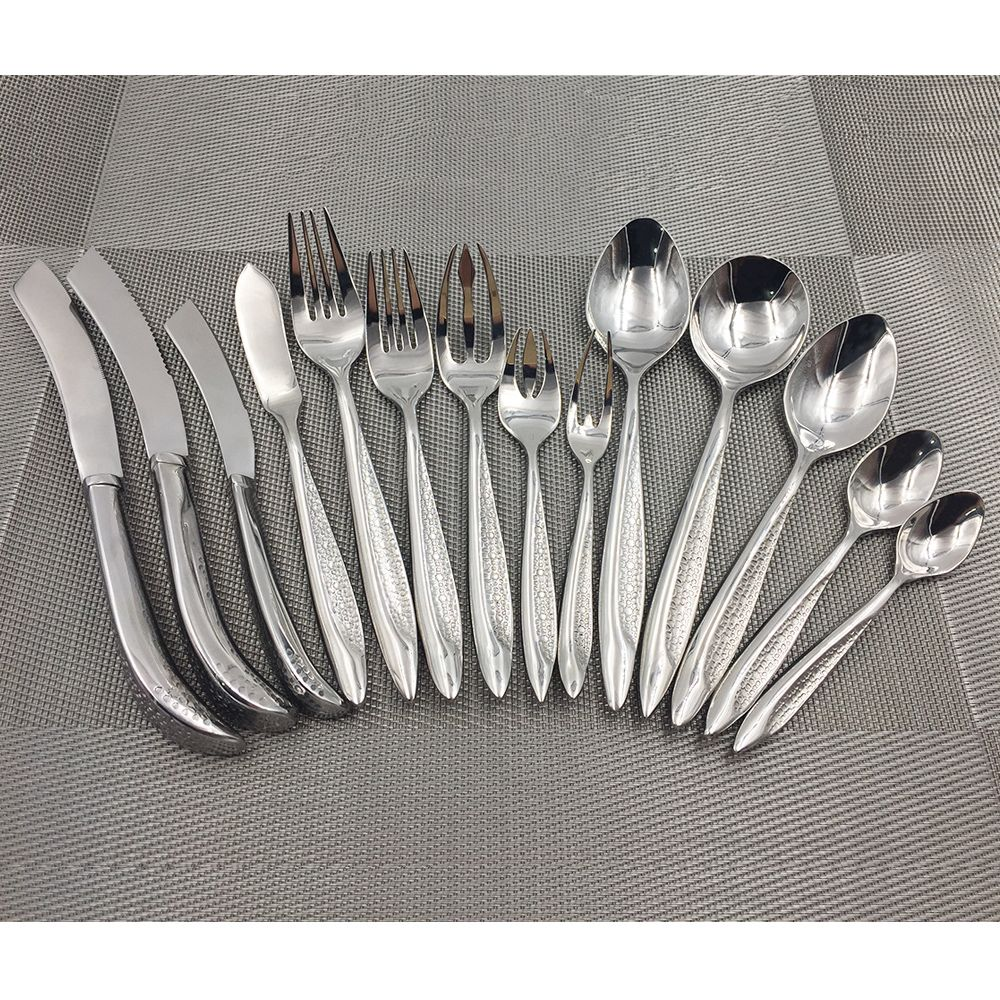 super 18 10 quality stainless steel tableware cutlery sets western