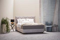 Schramm Boxspring boxspring bed origins opal plus slaapcomfort en beddesign