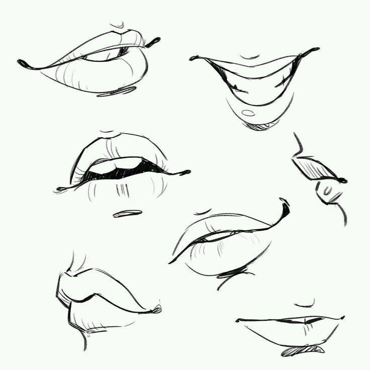 Новости | Ilustrace | Pinterest | Drawings, Anatomy and Draw lips