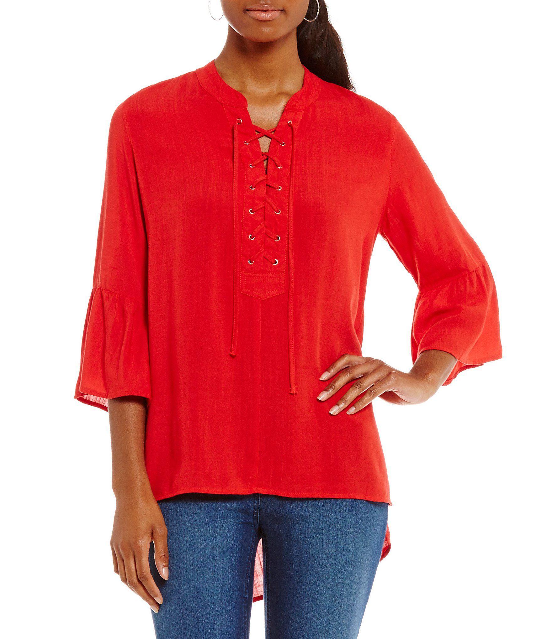 Dillards Womens Shirts And Blouses Anlis