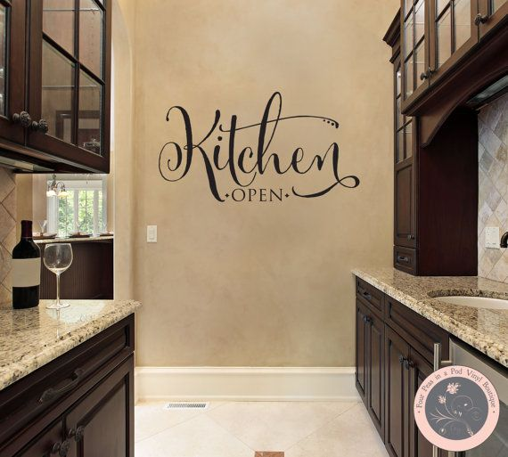 Kitchen Wall Groupings: Wall Decal For The Home Kitchen Wall Decal By