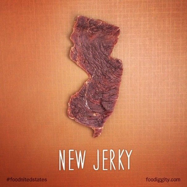Dad And YearOld Son Create Punny Food Maps For US States Food - How to create a map of the us