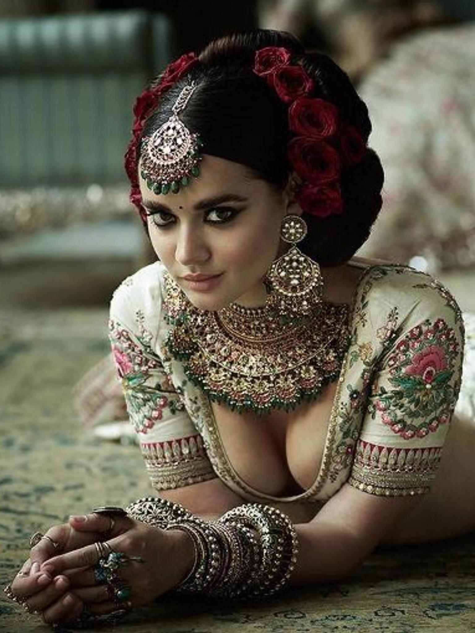 Indian nude brides