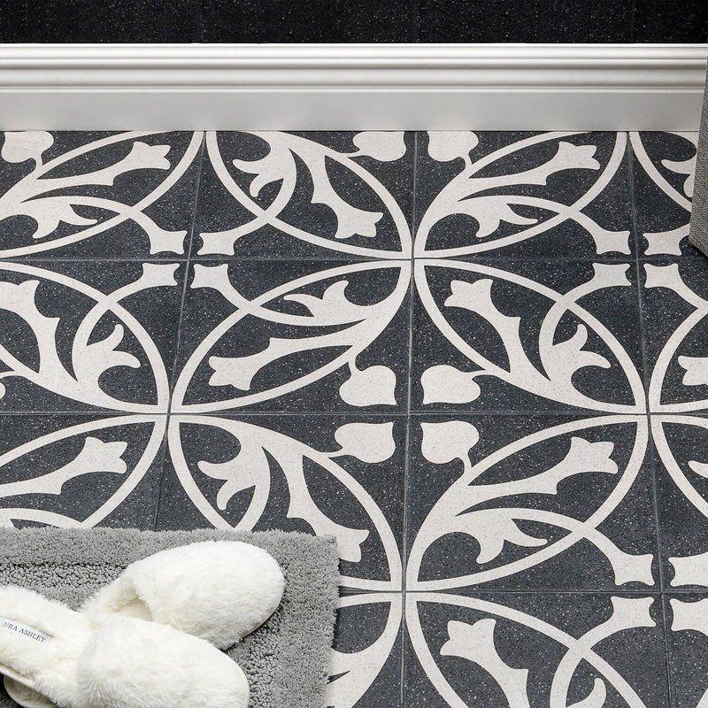 Branwell 9 X 9 Porcelain Field Tile Porcelain Tile Patchwork Tiles Porcelain