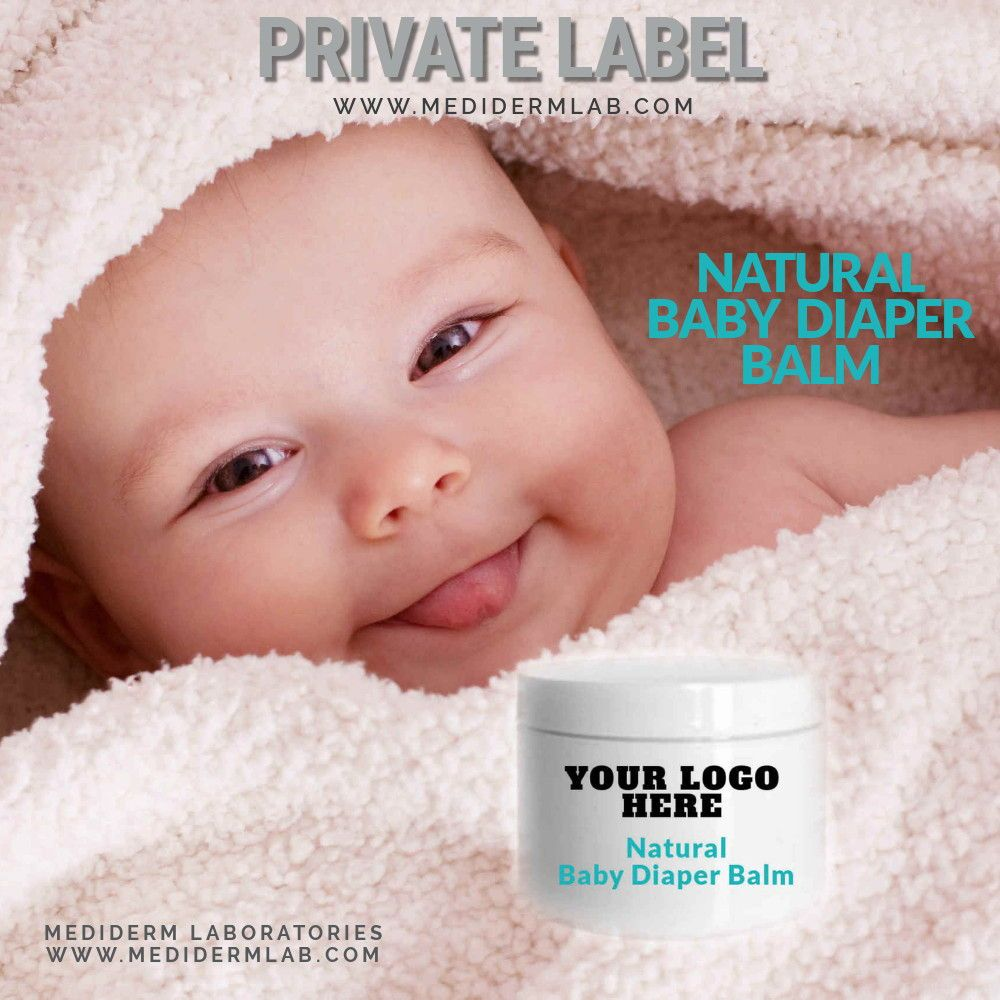 Natural Healing Baby Diaper Balm -Private Label in 2019