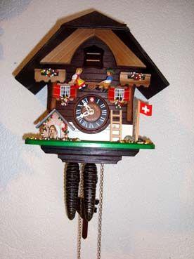 Reloj Suizo Relojes De Pared Reloj De Cuco Reloj Cucu