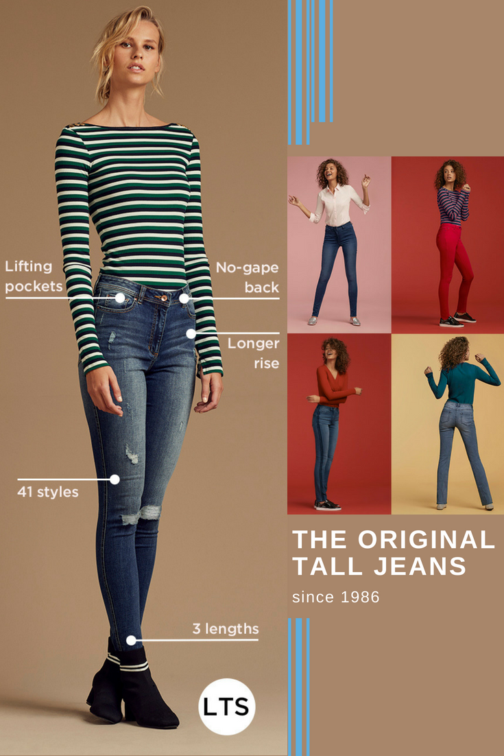 Jeans For Tall Women It S Our Thing With Over 140 000 Pairs Sold Each Year And 40 Years Of Denim Know How Jeans For Tall Women Tall Girl Fashion Tall Women [ 1102 x 735 Pixel ]