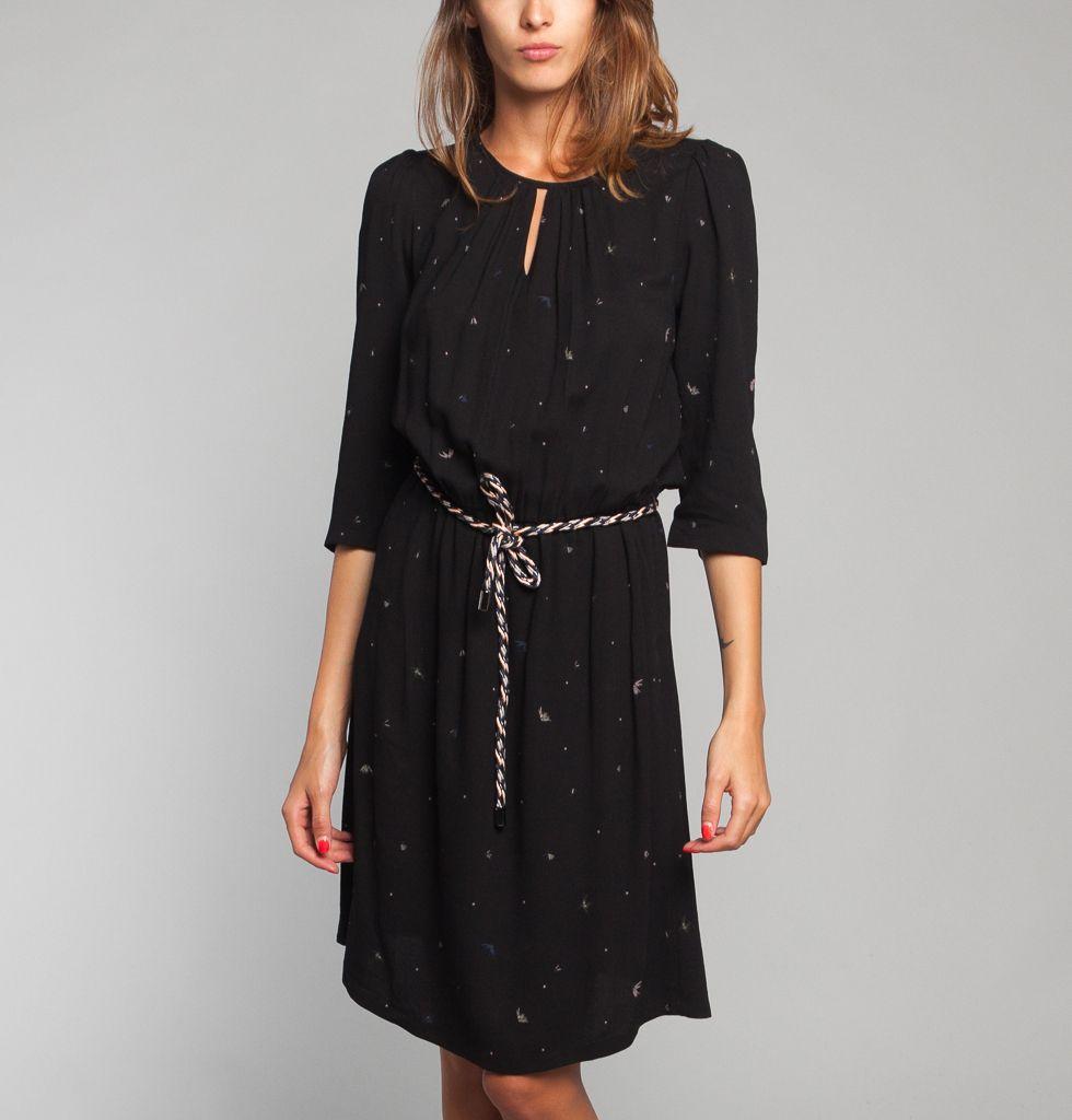 Robe Manoa Noir Sessun En Vente Chez L Exception Avec Images Robe Sessun Robe Robes Sans Manche