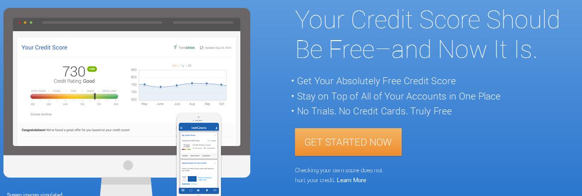 Free Credit Report & Free Credit Score. No Credit Card