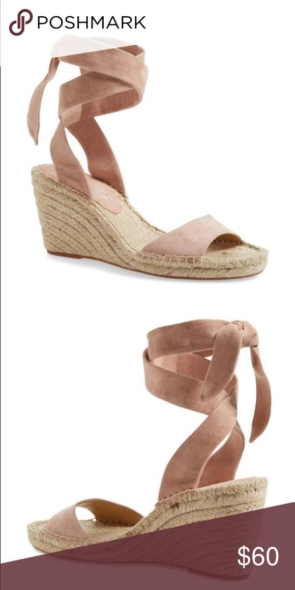 d2abeca03a7 Splendid Joelle Ankle Tie Espadrille Wedge Sandal New in box Color ...