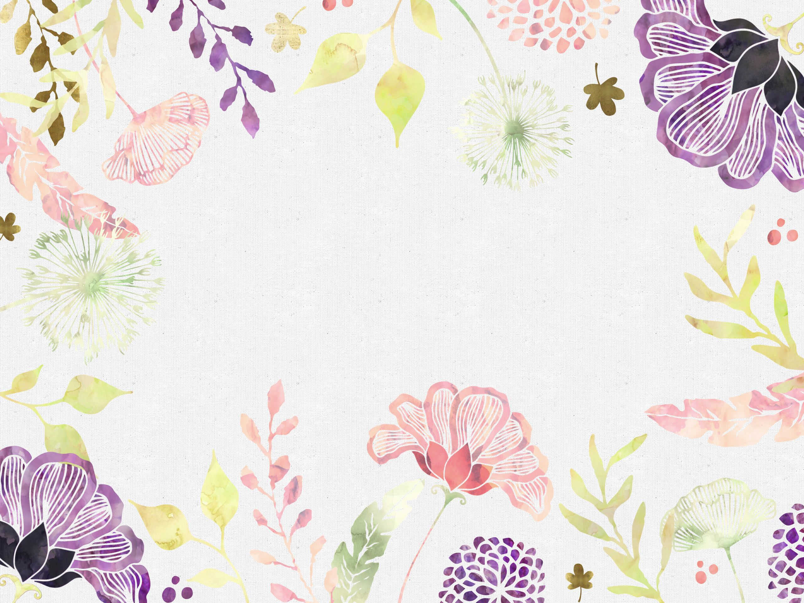 Free Floral Desktop Wallpaper I Choose Happiness Ipad