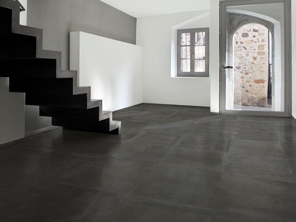 Vloertegels Woonkamer Antraciet : Antraciet vloer g - floor ...