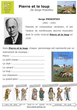 Pierre Et Le Loup Ce1 : pierre, Pierre, Ideas, Teaching, Music,, Music, School,, Peter