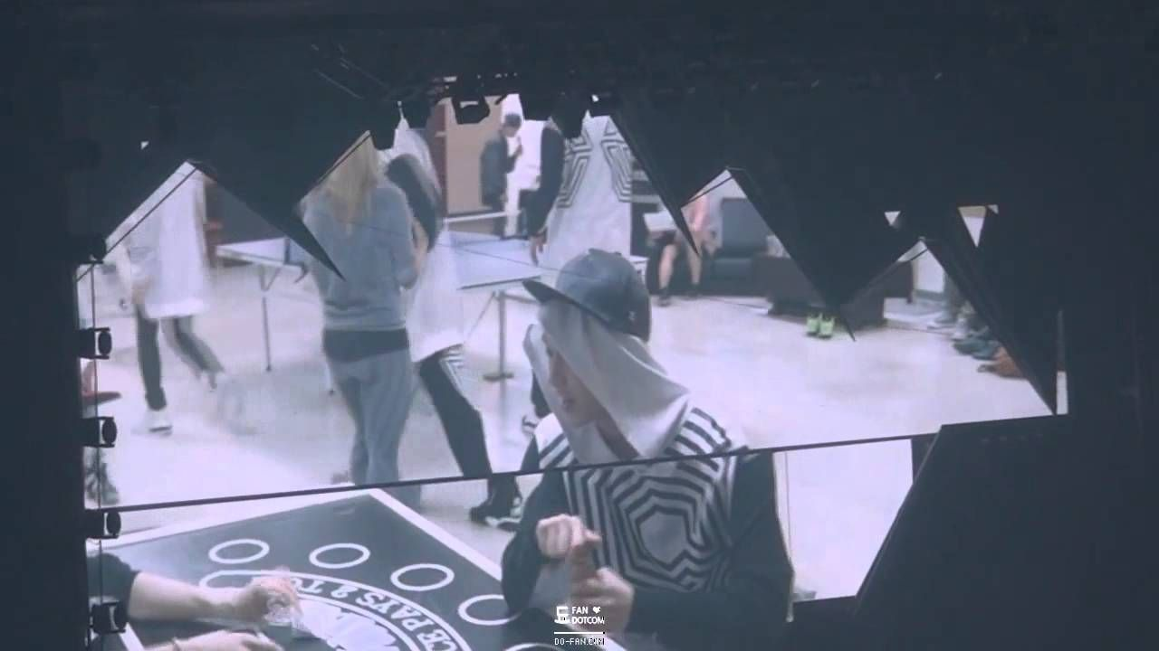 140523 EXO - the lost planet Heart attack VCR (하트어택 원테이크ver.) 전광판캠